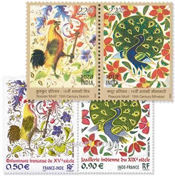 2003 - Émission commune-France-Inde