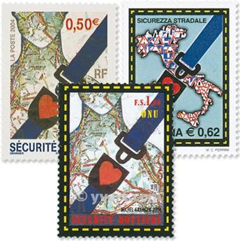 2004 - Émission commune-France-Italie-Nations-Unies