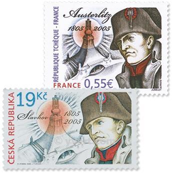 2005 - Emisiones comunes - Francia - República Checa