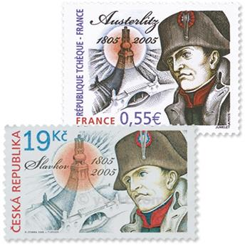 2005 - Joint issue-France-Czech-Republic