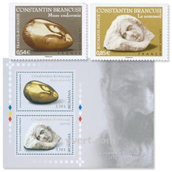 2006 - Emisiones comunes - Francia - Rumania (Fundas)