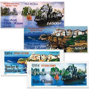 2008 - Emisiones comunes - Francia - Vietnam