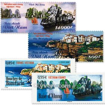 2008 - Joint issue-France-Vietnam