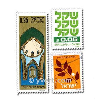 ISRAEL : pochette de 300 timbres