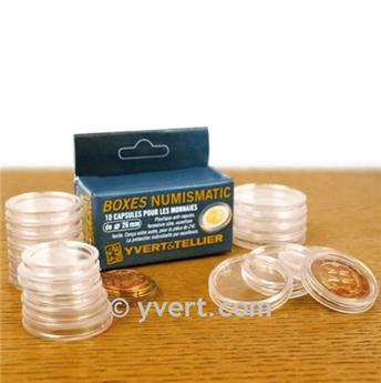 CAPSULES: 26 mm - FOR 2 EURO