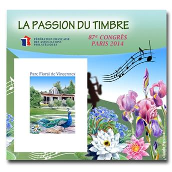 n.o 9 -  Sello Francia Federación Francesa de Asociaciones Filatélicas (FFAP)