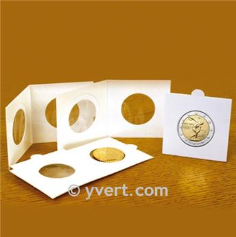 COIN HOLDERS: 22.5 mm - TO FASTEN