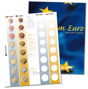 Recharges EURO - Vol. II -  LITUANIE - LETTONIE