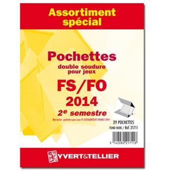 Assortiment de pochettes (double soudure) : 2014-2e semestre