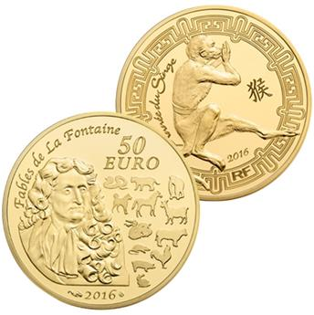 50 EUROS GOLD? - CHINESE ZODIAC, MONKEY´S YEAR 2016