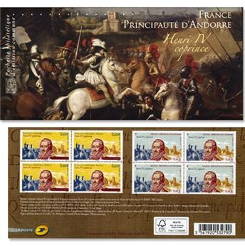 2012 - Joint issue-France-Andorra-(mounts)