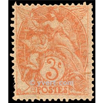 nr. 109 -  Stamp France Mail