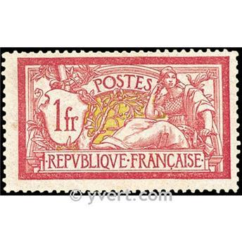 n.o 121 -  Sello Francia Correos