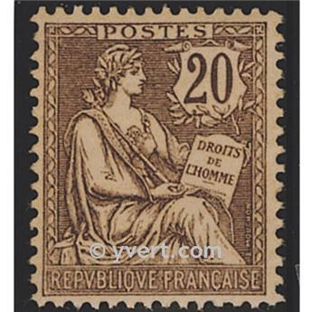 n.o 126 -  Sello Francia Correos