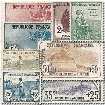 n° 148/155 -  Selo França Correios