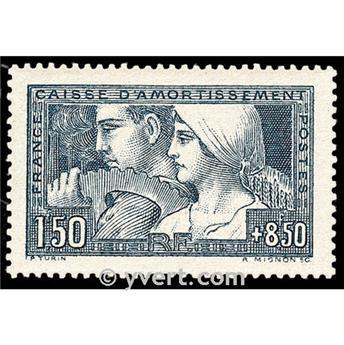 n.o 252 -  Sello Francia Correos