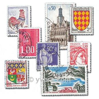 FRANCE: envelope of 1000 stamps