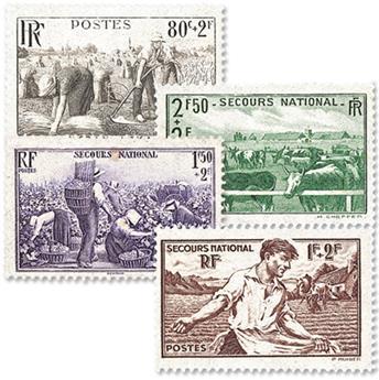 n° 466/469 -  Selo França Correios