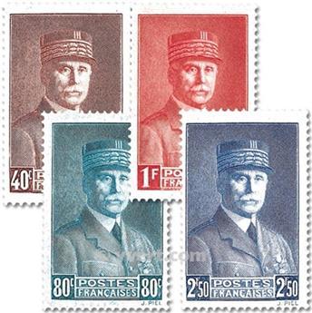 nr. 470/473 -  Stamp France Mail