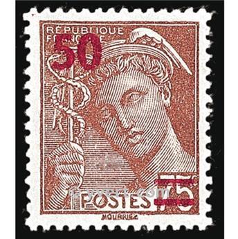 n.o 477 -  Sello Francia Correos