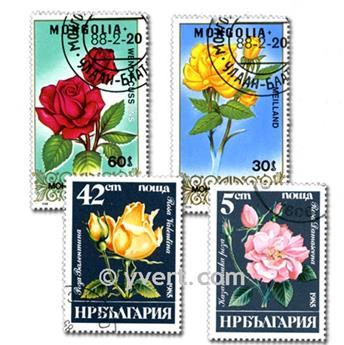 FLORA: envelope of 1000 stamps