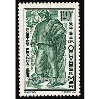 n.o 504 -  Sello Francia Correos