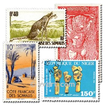 COMUNIDADE FRANCESA: lote de 500 selos