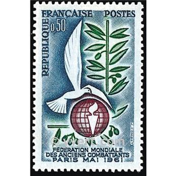 nr. 1292 -  Stamp France Mail