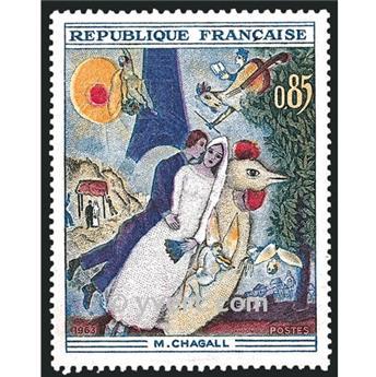n° 1398 -  Selo França Correios
