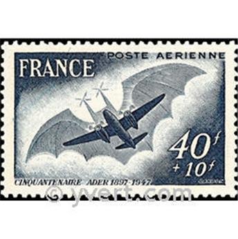 n° 23b -  Timbre France Poste aérienne
