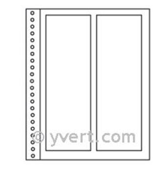 Recargas ´Simples Régent-Supra´: 2 compartimentos verticais