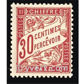 n° 33 -  Selo França Taxa