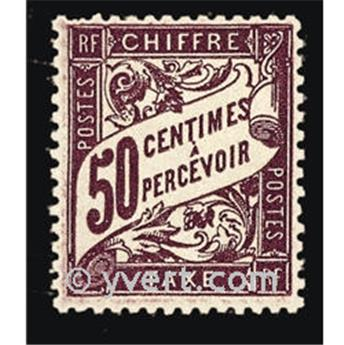 n° 37 -  Selo França Taxa