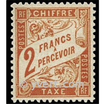n° 41 -  Selo França Taxa