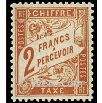 n° 41 -  Timbre France Taxe