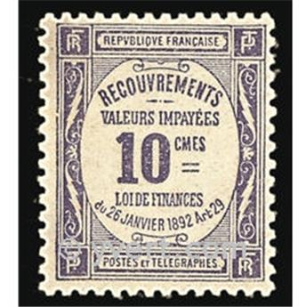 n° 44 -  Timbre France Taxe