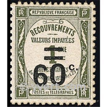 n° 52 -  Selo França Taxa