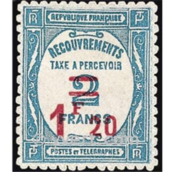 n.o 64 -  Sello Francia Tasa