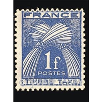nr. 81 -  Stamp France Revenue stamp