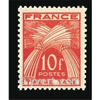n.o 86 -  Sello Francia Tasa