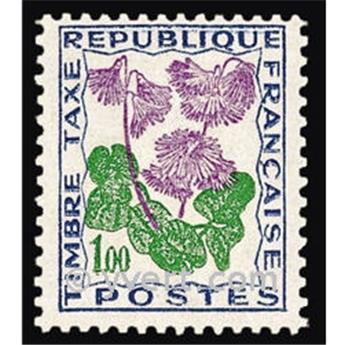 n.o 102 -  Sello Francia Tasa