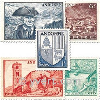 n° 119/137 -  Timbre Andorre Poste