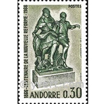 n° 181 -  Timbre Andorre Poste