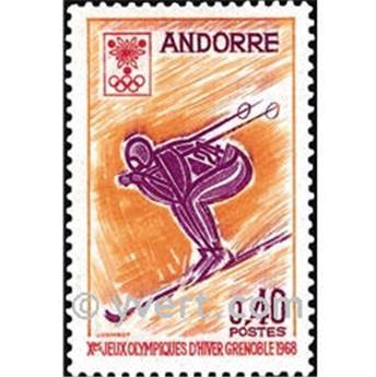 n.o 187 -  Sello Andorra Correos