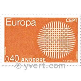 n.o 202/203 -  Sello Andorra Correos
