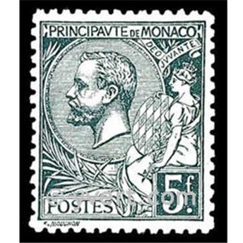nr. 47 -  Stamp Monaco Mail