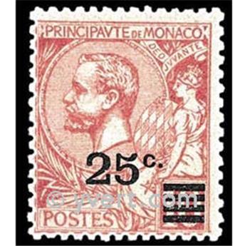 n° 52 -  Selo Mónaco Correios