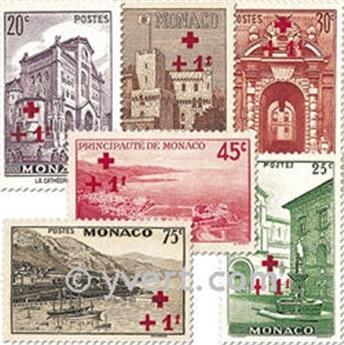 n.o 200/214 -  Sello Mónaco Correos