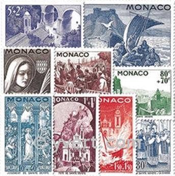 n° 265/273 -  Selo Mónaco Correios