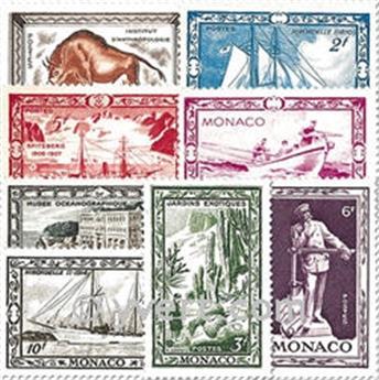 nr. 324/331 -  Stamp Monaco Mail